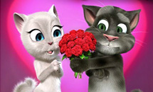 เกมส์ Talking Tom Valentine