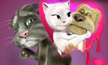 Talking Tom Valentine Day