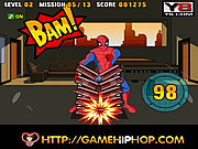 เกมส์ Spiderman Power Strike